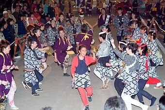 富士宮秋まつり 踊り