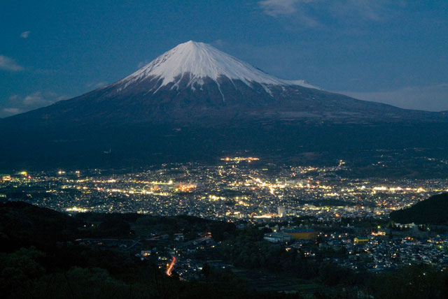 羽鮒山展望台 黄昏
