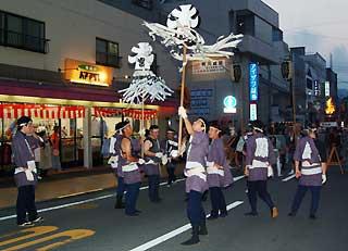 富士山御神火まつり 梯子隊