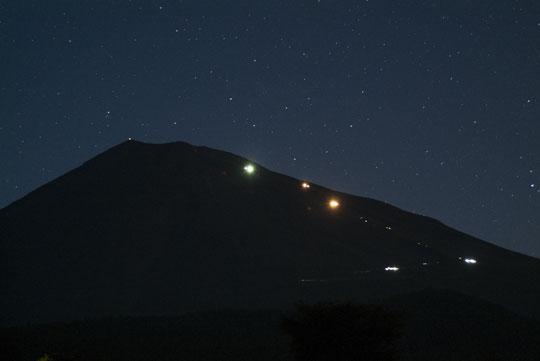 7月31日の富士山-1