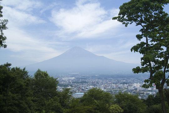夏の富士山-1
