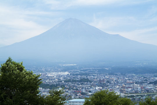 夏の富士山-2