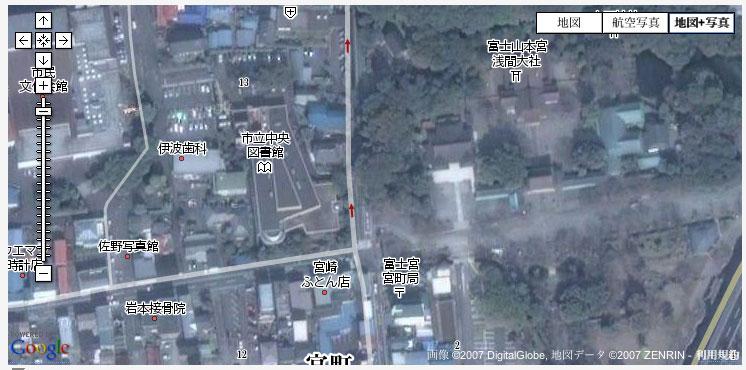 GoogleMapの写真+Map