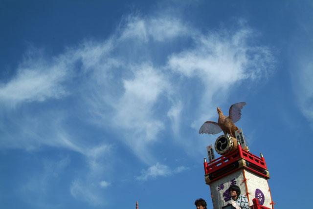 祭りの空-3