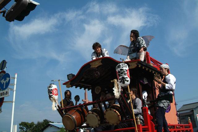 祭りの空-4