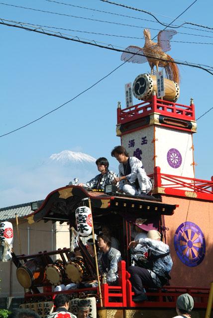 祭りと富士山-1
