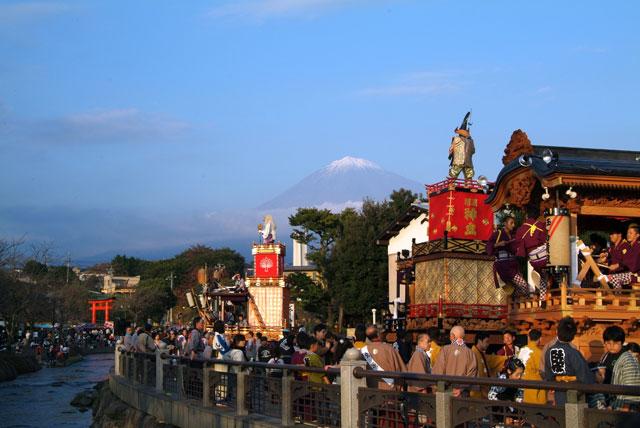 祭りと富士山-6