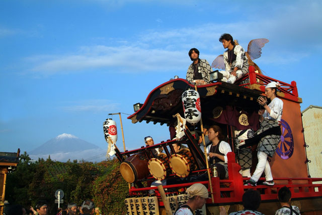 祭りと富士山-7