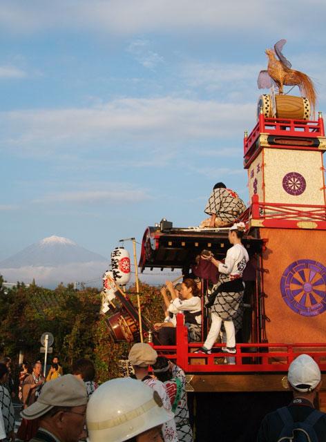祭りと富士山-8