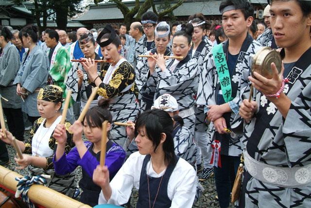 祭り囃子-1