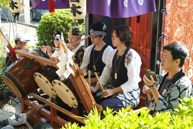 祭り囃子-2