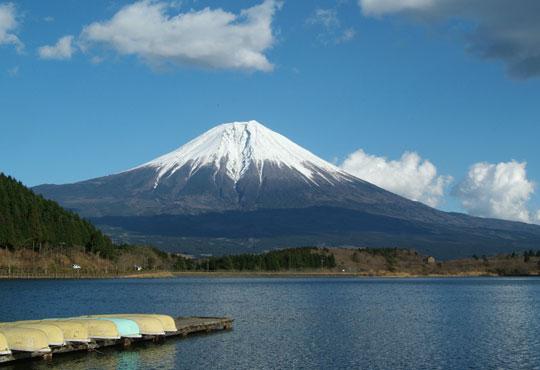 田貫湖からの富士山 18.12.27