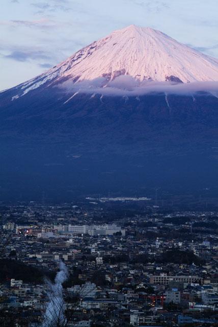 1月3日の富士山-3