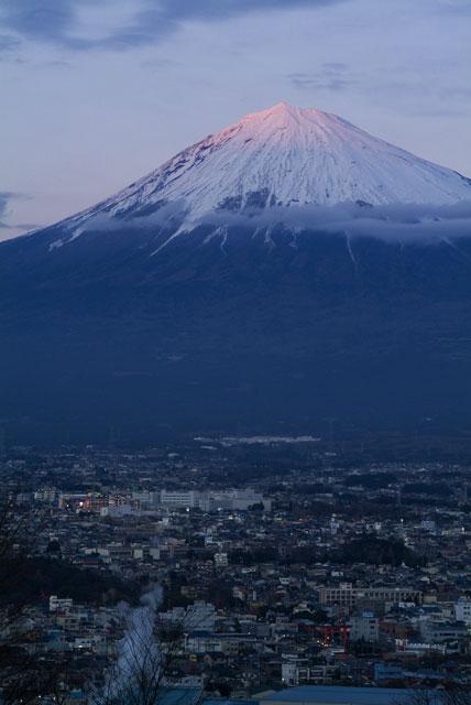 1月3日の富士山-4