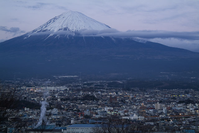1月3日の富士山-5