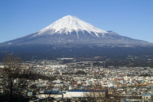 2月13日の富士山-2