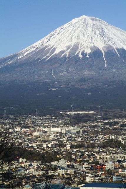 2月13日の富士山-4