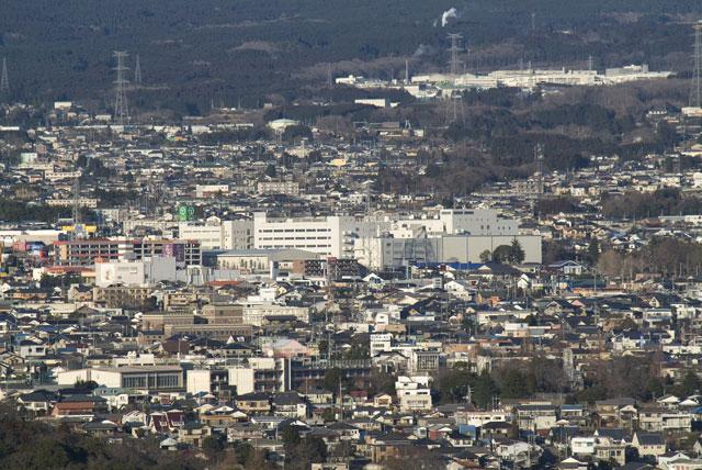 2月13日の富士宮市街-4