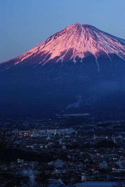2月28日の富士山-2