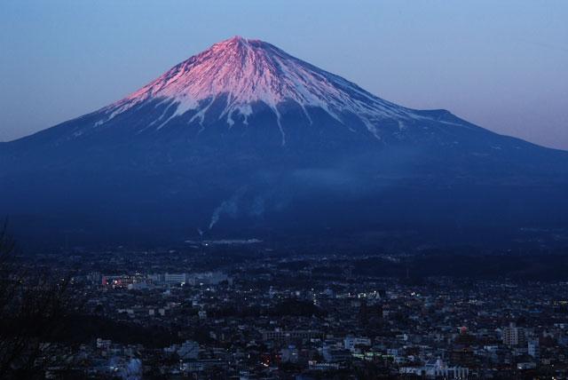 2月28日の富士山-3