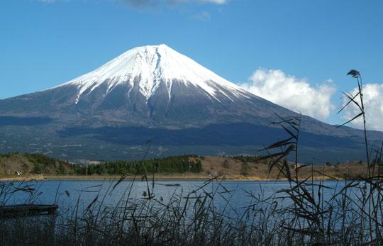 田貫湖からの富士山 18.12.27-2