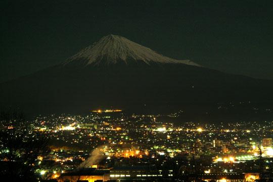白尾山より 1月4日夜景