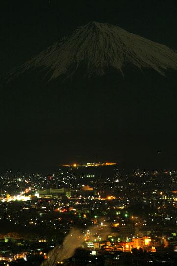 白尾山より 1月4日-2 夜景