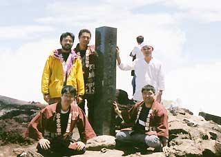 富士山頂囃子奉納-6