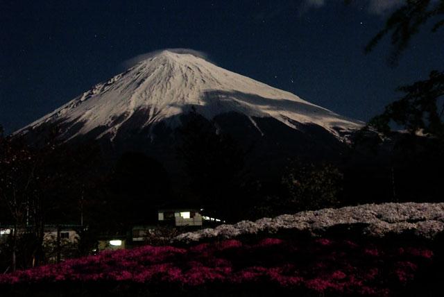月夜の富士山-3