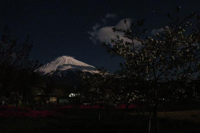 月夜の富士山-5