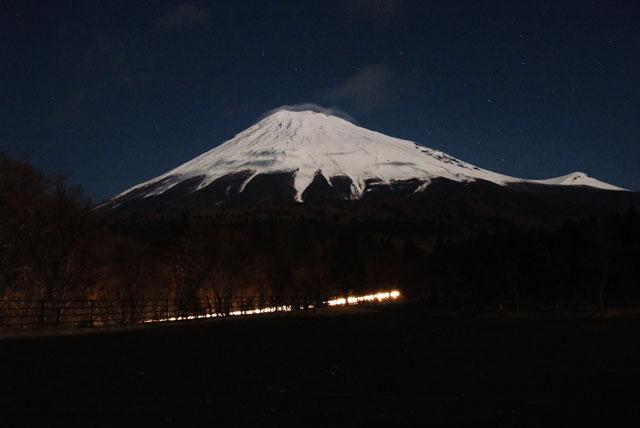 月夜の富士山-6