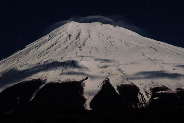 月夜の富士山-7