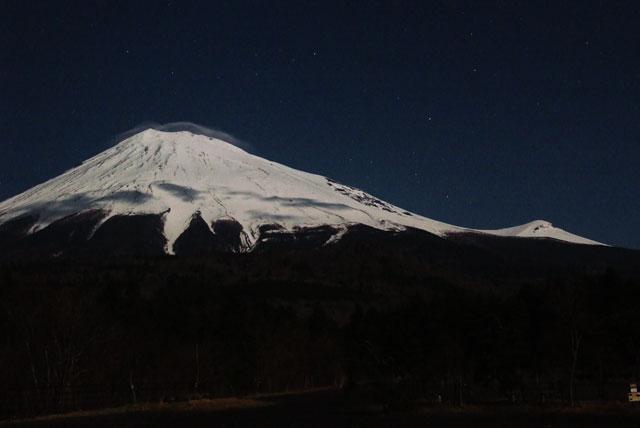 月夜の富士山-8