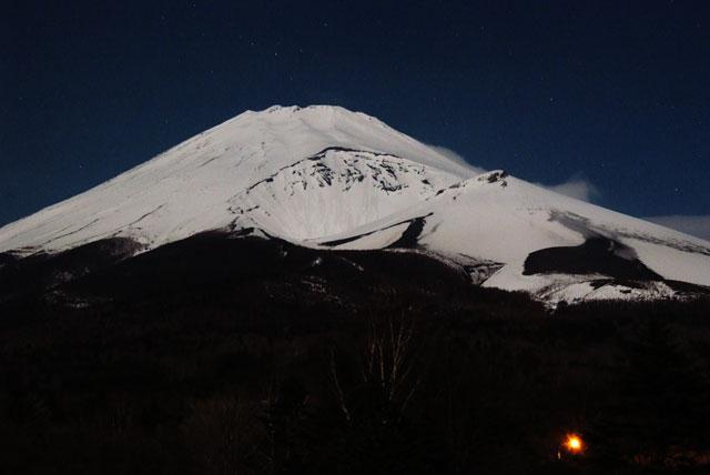 月夜の富士山-9