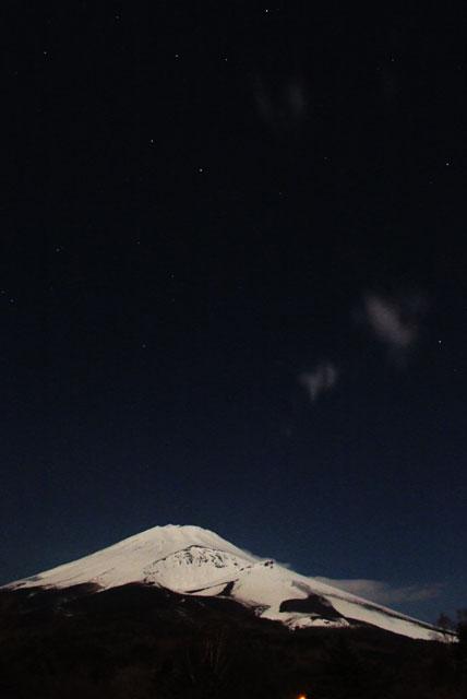 月夜の富士山-10