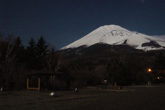 月夜の富士山-11