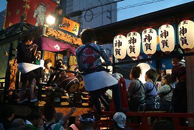 富士宮秋まつり 競り合い
