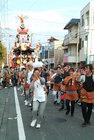 秋まつりの踊り-5