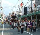 富士宮秋まつり 目抜き通りを曳く